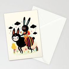 Walking Away Stationery Cards