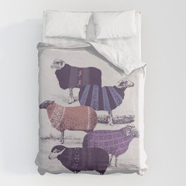Cool Sweaters Duvet Cover