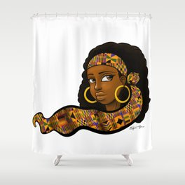 Immaculate Beauty Shower Curtain