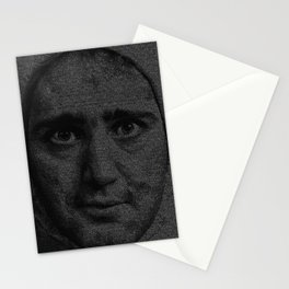 Man on the Moon Screenplay Print Stationery Cards