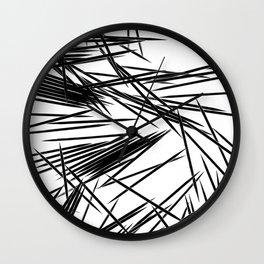 Pick-Up Sticks Wall Clock