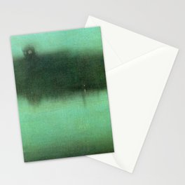 Nocturne Grey And Silver 1875 By James Mcneill Whistler | Reproduction Stationery Cards