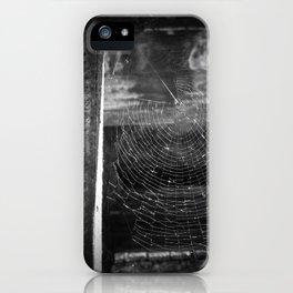 Cemetery Cobweb iPhone Case