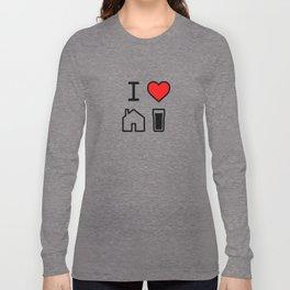 I Heart Homebrew Long Sleeve T-shirt