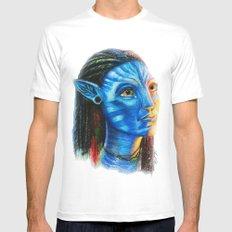 Avatar Mens Fitted Tee White MEDIUM