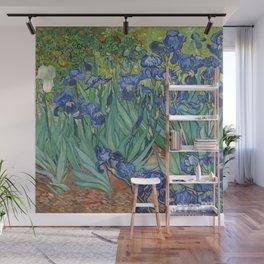 Irises by Vincent van Gogh Wall Mural