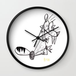 IceAge Scrat Wall Clock