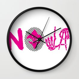 TO LIVE AND DIE IN NEW ORLEANS LADIES EDITION Wall Clock