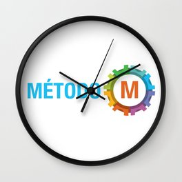 Metodo M Logo Wall Clock