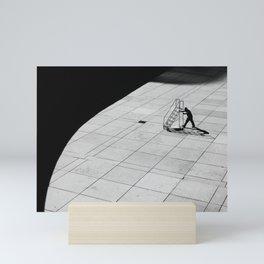 Stairway to nowhere Mini Art Print