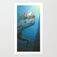 The Reefback  Art Print