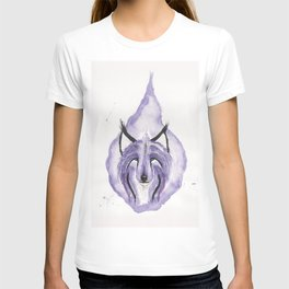 Hitodama the Spirit Wolf. T-shirt