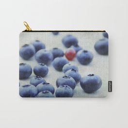 Blue berries with one red currant Carry-All Pouch