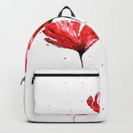 Poppy blooming 3 Backpack