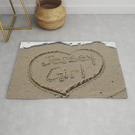 Jersey Girl on the Jersey Shore Rug