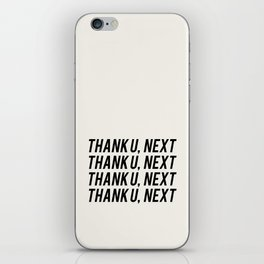 THANK U, NEXT iPhone Skin