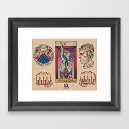 BJJ Flash II Framed Art Print
