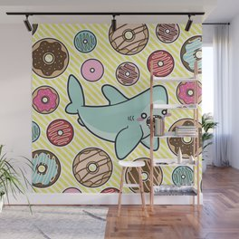 Drooling over Donuts Wall Mural