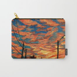 Street Meets Sky  Carry-All Pouch