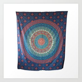 Traditional Cotton Wall Hanging Art Print