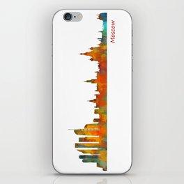 Moscow City Skyline art HQ v1 iPhone Skin