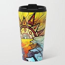 "SunRise ""Global Warming"" Travel Mug"