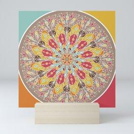 Mandala Boho Style Mini Art Print