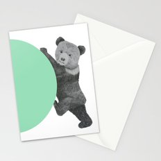 peppermint bear Stationery Cards