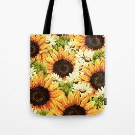 Summer Garden (Sunflower Sunshine) Tote Bag