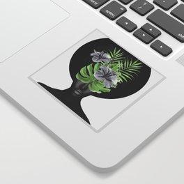 Tropical Girl Sticker