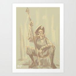 Man of La Mancha Art Print