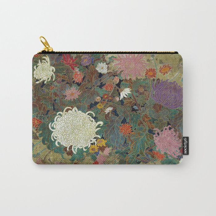 flower【Japanese painting】 Carry-All Pouch