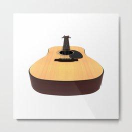 Acoustic Guitar Metal Print