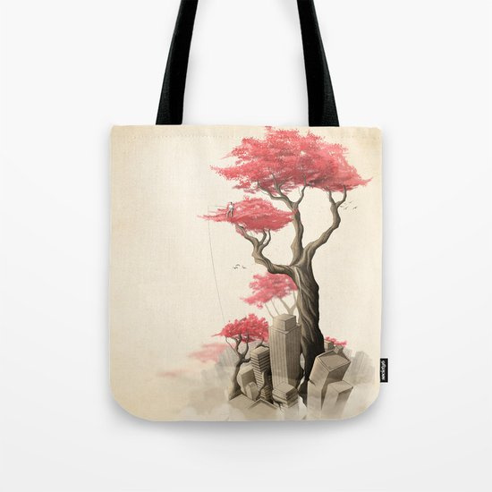 Revenge of the nature III: Fishing memories in the old world Tote Bag