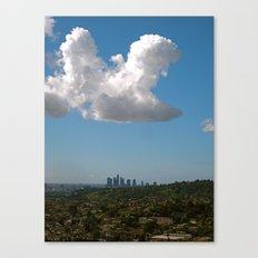 Los Angeles Skies Canvas Print