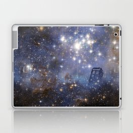 Adventures in Time and Space Laptop & iPad Skin