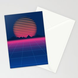 Sci-Fi and Fiction Background Stationery Cards