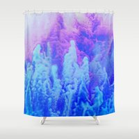 ice cream Shower Curtains featuring Ice Cream by Benito Sarnelli