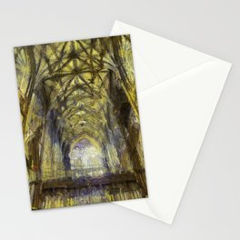 York Minster Van Gogh Style Stationery Cards