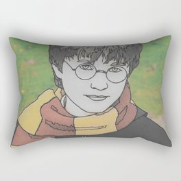 The Boy Who Lived Rectangular Pillow