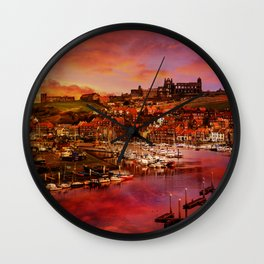 Whitby Port Wall Clock