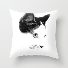 Keiichi Cat Throw Pillow