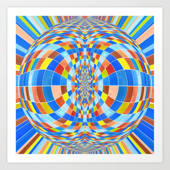 Have A Happy Trippy Day! Art Print