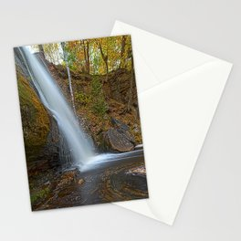 Autumn at Hungarian Falls Stationery Cards