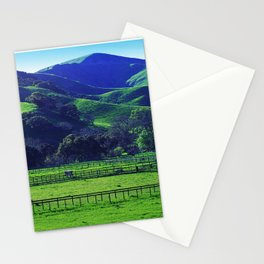 Lush Green Grass Majestic Meadow Scenic Photo Stationery Cards