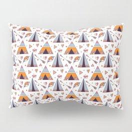 Tribal Tee Pee And Arrow Boho Design Pillow Sham