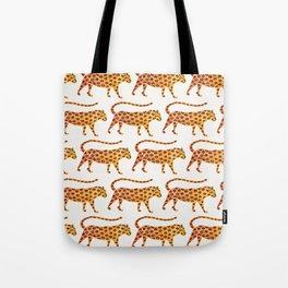 Jaguar Pattern Tote Bag