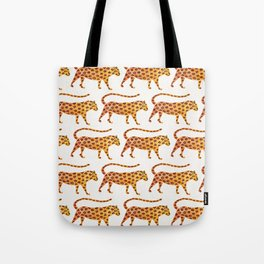 Jaguar Pattern Tote Bag