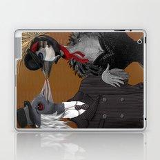 Demoiselle Crane and Grey Crowned Crane Laptop & iPad Skin