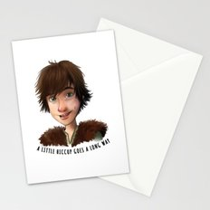 A little Hiccup goes a long way Stationery Cards